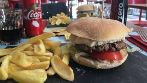 hamburger di razza fassona